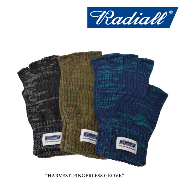 【SALE】 RADIALL(ラディアル) HARVEST-FINGERLESS GROVE 【2017A/W SPOT COLLECTION新作】 【即発送可能】【RAD-17AWS-ACC01】