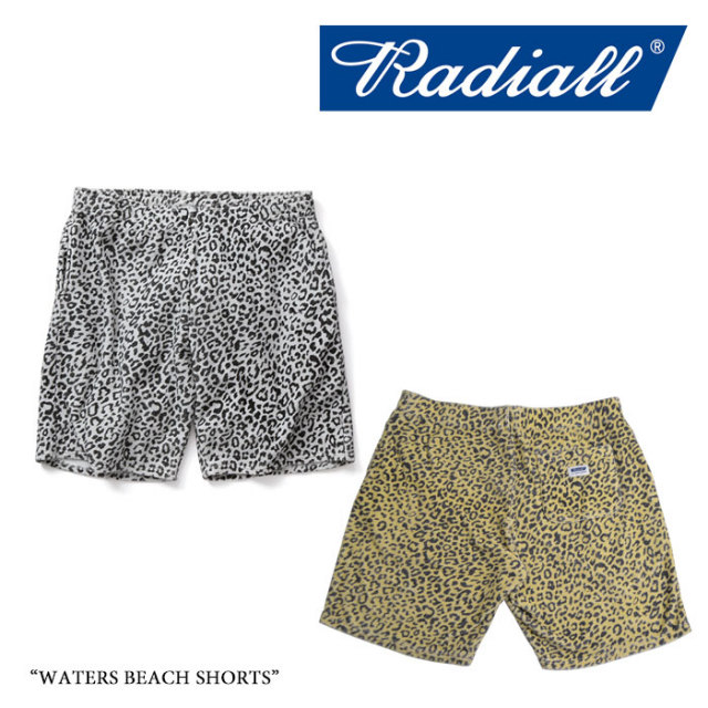 【SALE 30%OFF】RADIALL(ラディアル) WATERS BEACH SHORTS 【2017 SPRING&SUMMER】 【即発送可能】【送料無料】 【RADIALL ショ