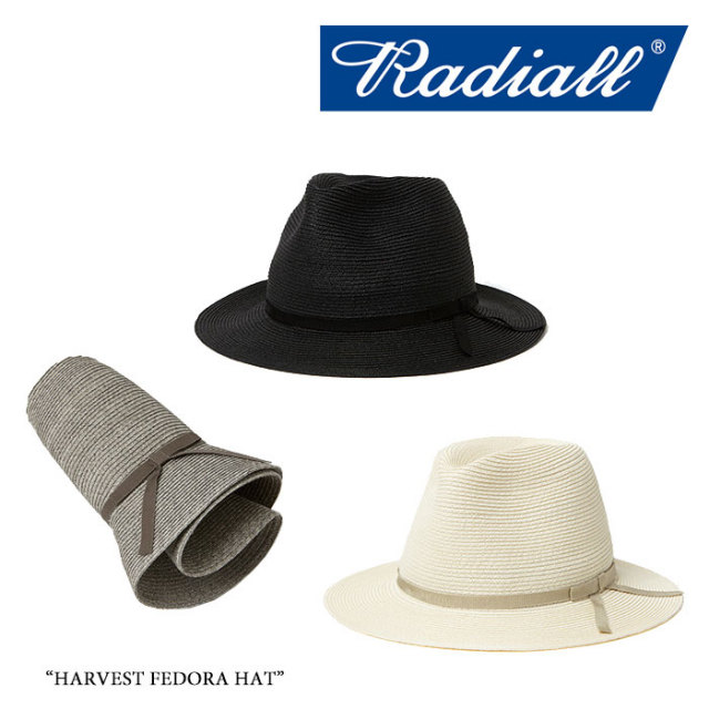 【SALE 30%OFF】RADIALL(ラディアル) HARVEST FEDORA HAT 【2017 SPRING&SUMMER】 【即発送可能】【送料無料】 【RADIALL ハット