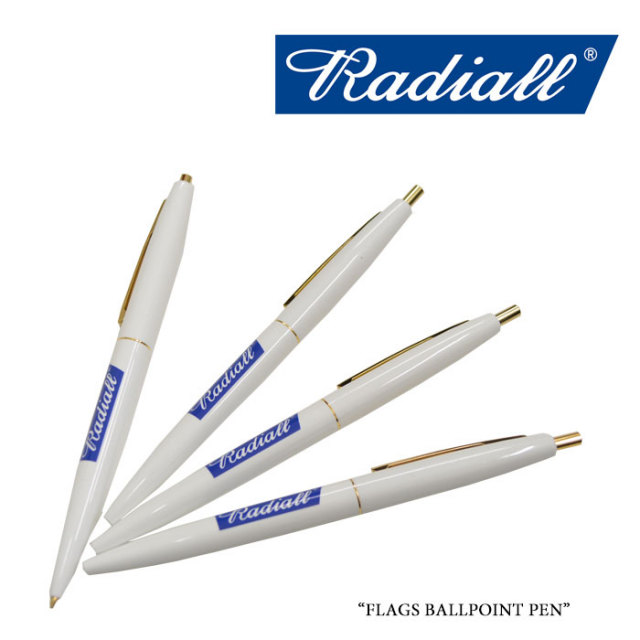 RADIALL(ラディアル) FLAGS BALLPOINT PEN 【2018 SPRING&SUMMER】 【RADIALL ボールペン】 【RAD-18SS-ACC009】 【RADIALL 正