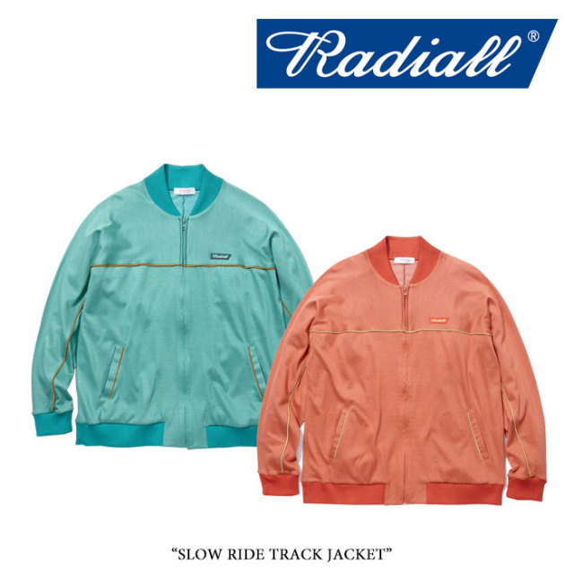 【SALE】 RADIALL(ラディアル) SLOW RIDE TRACK JACKET 【2018 SPRING&SUMMER新作】 【送料無料】【即発送可能】 【RAD-18SS-CU