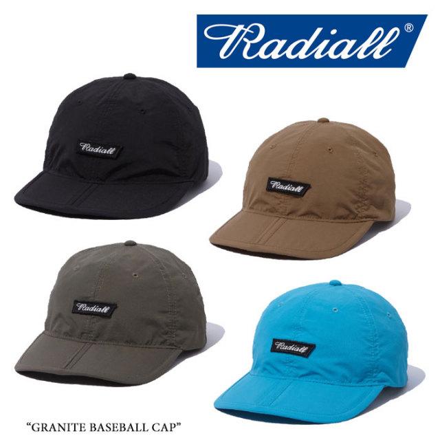 【SALE】 RADIALL(ラディアル) GRANITE BASEBALL CAP 【2018 SPRING&SUMMER新作】 【即発送可能】 【RAD-18SS-HAT003】