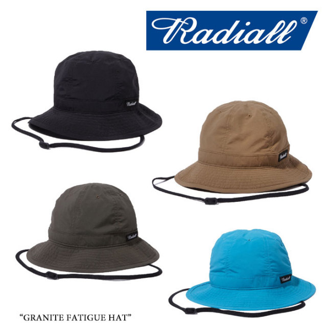 RADIALL(ラディアル) GRANITE FATIGUE HAT 【2018 SPRING&SUMMER新作】 【即発送可能】 【RAD-18SS-HAT004】