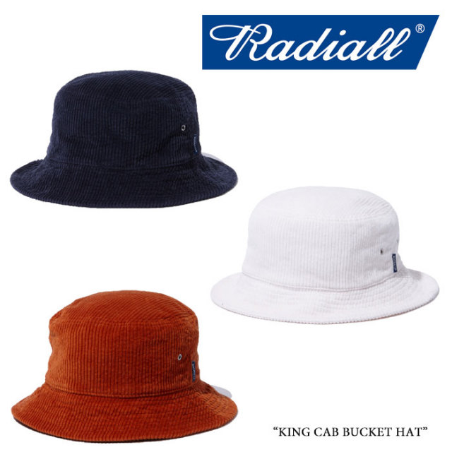 RADIALL(ラディアル) KING CAB BUCKET HAT 【2018 SPRING&SUMMER新作】 【即発送可能】 【RAD-18SS-HAT010】