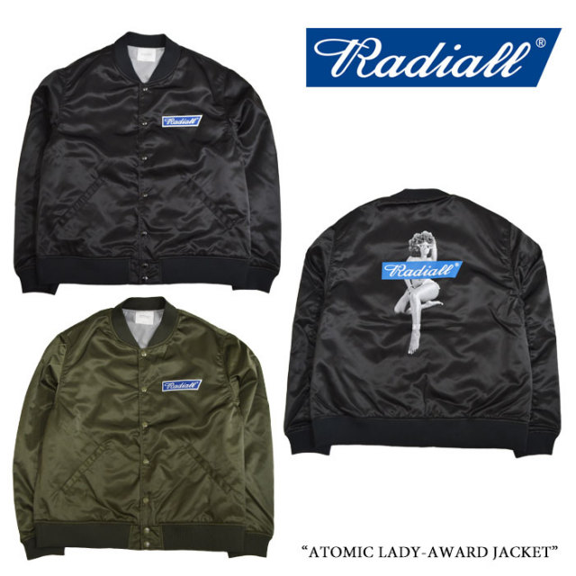 RADIALL(ラディアル) ATOMIC LADY-AWARD JACKET 【2018 SPRING&SUMMER新作】 【送料無料】【即発送可能】 【RADIALL アウター】
