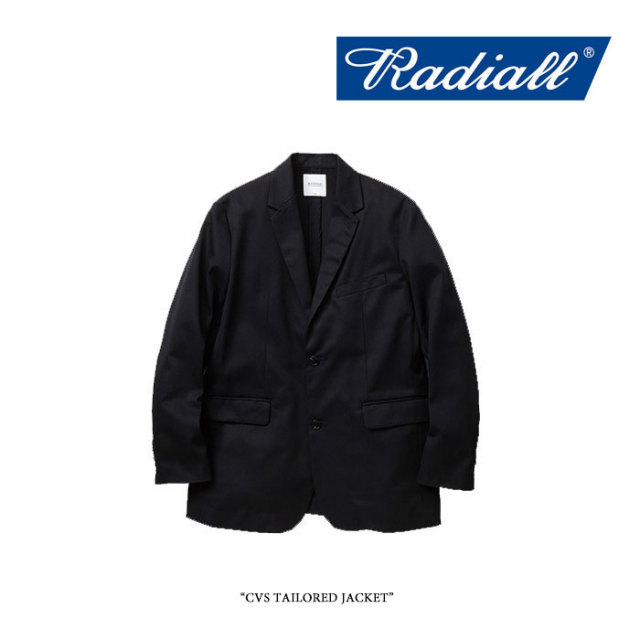 RADIALL(ラディアル) CVS TAILORED JACKET 【2018 SPRING&SUMMER新作】 【送料無料】【即発送可能】 【RADIALL アウター】 【R