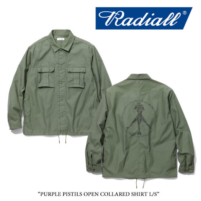 RADIALL(ラディアル) CIRCLE OF LOVE WINDBREAKER JACKET 【2018 SPRING&SUMMER新作】 【送料無料】【即発送可能】 【RADIALL シ