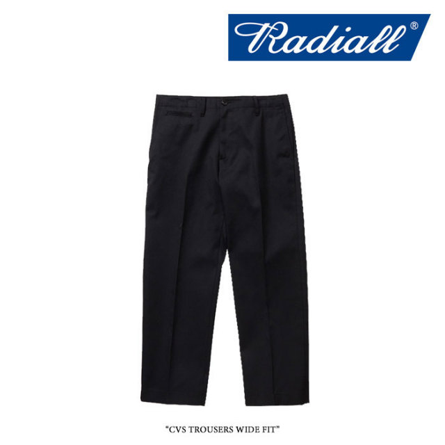 RADIALL(ラディアル) CVS TROUSERS WIDE FIT 【2018 SPRING&SUMMER新作】 【送料無料】【即発送可能】 【RADIALL パンツ】 【RA