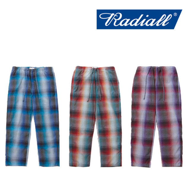 【SALE】 RADIALL(ラディアル) SHOE BOX WIDE FIT EASY PANTS 【2018 SPRING&SUMMER新作】【RAD-18SS-PT008】
