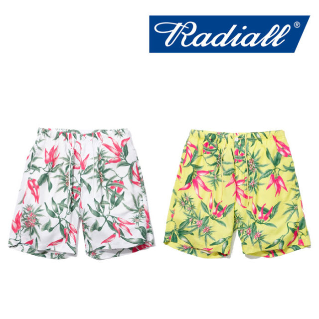 【SALE】 RADIALL(ラディアル) PURPLE PISTILS EASY SHORTS 【2018 SPRING&SUMMER新作】 【RADIALL ショーツ】 【RAD-18SS-PT00