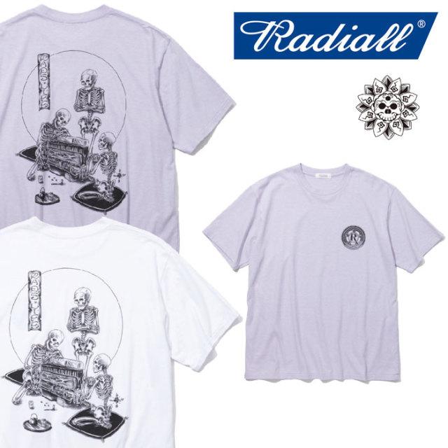 【SALE】 RADIALL(ラディアル) IPPUKU-CREW NECK T-SHIRT 【2018 SPRING&SUMMER新作】 【RADIALL Tシャツ】 【RAD-18SS-TEE018
