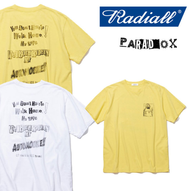 RADIALL(ラディアル) MY AUTOMOBILE-CREW NECK T-SHIRT 【2018 SPRING&SUMMER新作】 【RADIALL Tシャツ】 【RAD-18SS-TEE025】