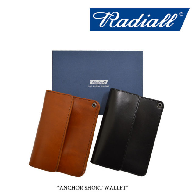 RADIALL(ラディアル) ANCHOR SHORT WALLET 【2019 A/W COLLECTION新作】 【RADIALL ショートウォレット】 【RAD-LTR001】