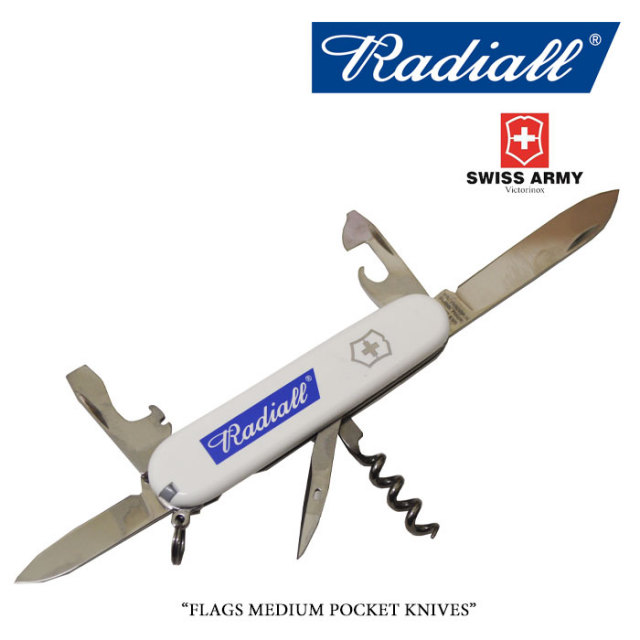 RADIALL(ラディアル) FLAGS MEDIUM POCKET KNIVES 【2018 SPOT新作】 【RADIALL×VICTORINOX】 【RAD-18SS-SPOT-JW001】