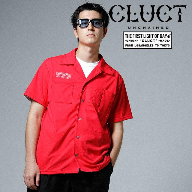 CLUCT(クラクト) PRIMEFLEX OPEN COLLOR SHIRT 【2019SPRING先行予約】【キャンセル不可】 【#02926】【シャツ】