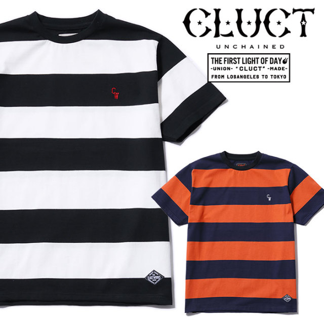 CLUCT(クラクト) BORDER TEE 【2019SPRING先行予約】【キャンセル不可】 【#02928】【Tシャツ】