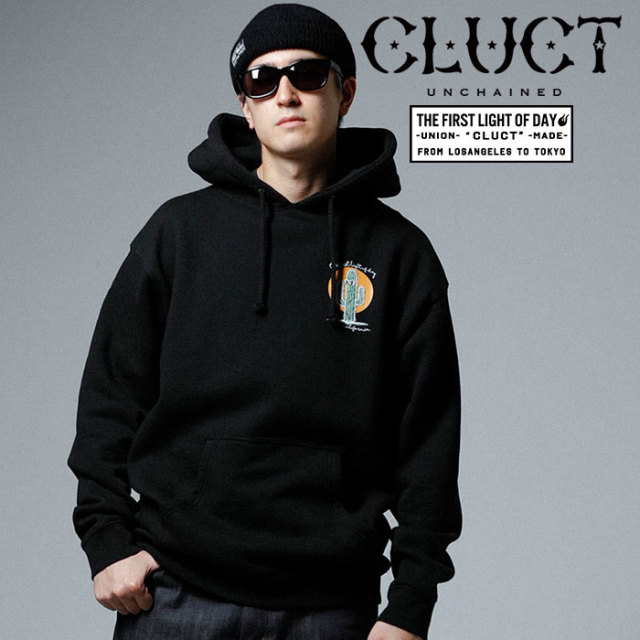CLUCT(クラクト) PULLOVER HOODIE CUCTUS 【2019SPRING先行予約】【キャンセル不可】 【#02940】【パーカー】