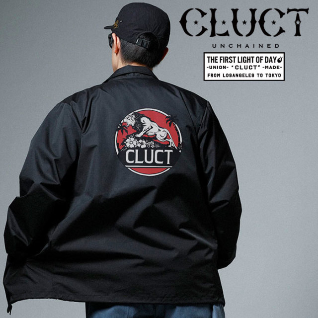【SALE20%OFF】 CLUCT(クラクト) COACH JKT RISE ABOVE 【2019SPRING新作】【送料無料】【セール】 【#02944】【コーチジャケッ