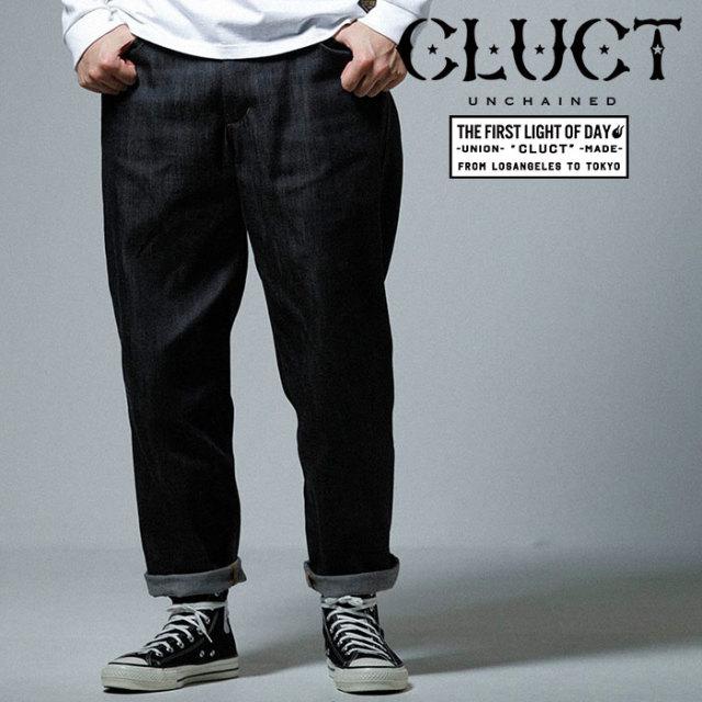 CLUCT(クラクト) SHIN DENIM BAGGY PANTS 【2019SPRING先行予約】【キャンセル不可】 【#02952】【デニムパンツ】