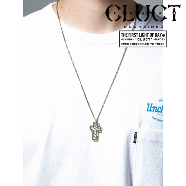 CLUCT(クラクト) ANTIQUE CROSS NECKLACE 【2019SPRING先行予約】【キャンセル不可】 【#02963】【ネックレス】