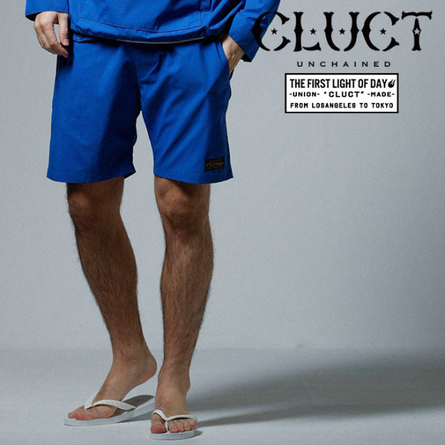 CLUCT(クラクト) NYLON SHORT PANTS 【2019SPRING先行予約】【キャンセル不可】 【#02972】【ショートパンツ】