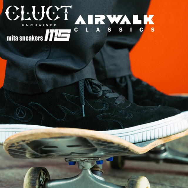 """CLUCT(クラクト) AIRWALK SCOACH SP """"CLUCT x mita sneakers"""" 【2019 LIMITED EDITION】【#02977】【スニーカー】"""