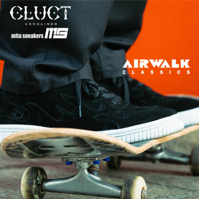 "CLUCT(クラクト) AIRWALK SCOACH SP ""CLUCT x mita sneakers"" 【2019 LIMITED EDITION】【#02977】【スニーカー】"