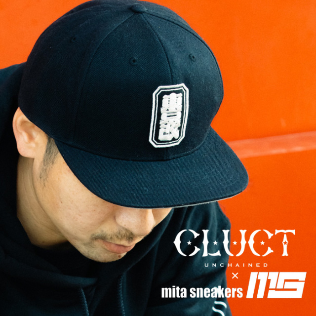 "CLUCT(クラクト) 東京改 6PANEL BASEBALL CAP ""mita sneakers"" 【2019 LIMITED EDITION】【#02982】【キャップ】"