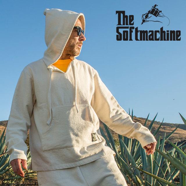 SOFTMACHINE(ソフトマシーン) ACAPULCO HOODED 【フーディー パーカー】【ブラック ホワイト タトゥー】【2020SUMMER VACATION先行