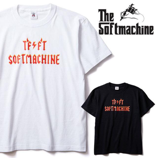 SOFTMACHINE(ソフトマシーン) ANGUS-T 【Tシャツ 半袖】【ホワイト ブラック タトゥー】【2020SUMMER VACATION先行予約】【キャン