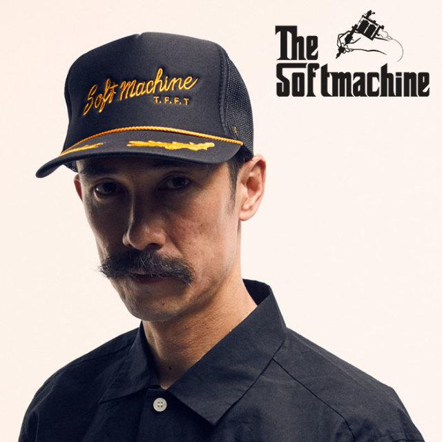 SOFTMACHINE(ソフトマシーン) BASES CAP 【2019SPRING&SUMMER新作】【メッシュキャップ】