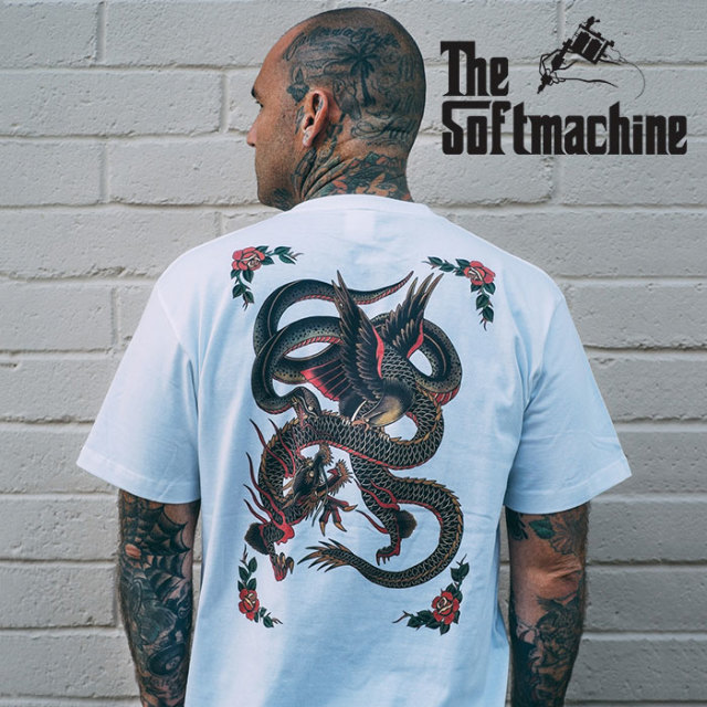 SOFTMACHINE(ソフトマシーン) BATTLE ROYALE-T(T-SHIRTS) 【2019SPRING&SUMMER新作】【プリントTシャツ】