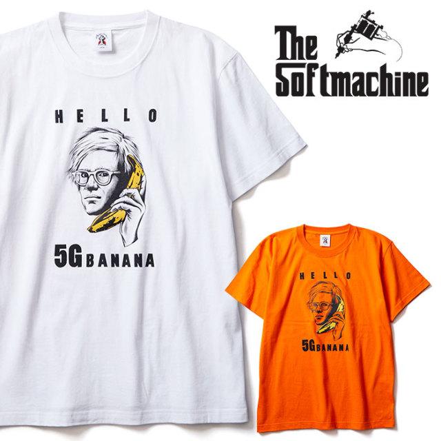 SOFTMACHINE(ソフトマシーン) CALL ME-T 【Tシャツ 半袖】【ホワイト オレンジ タトゥー】【2020SUMMER VACATION先行予約】【キャ