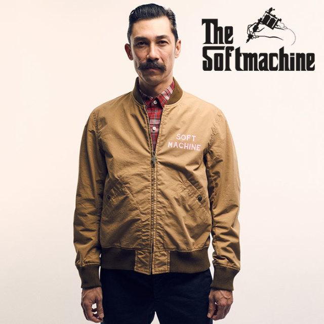 【SALE】 SOFTMACHINE(ソフトマシーン) DO NOT DIE JK(STADIUM JACKET) 【2019SPRING&SUMMER新作】【スタジアムジャケット スタジ
