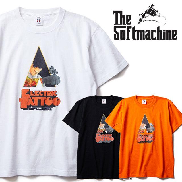 SOFTMACHINE(ソフトマシーン) ELECTRIC TATTOO-T 【Tシャツ 半袖】【ホワイト ブラック オレンジ タトゥー】【2020SUMMER VACATION