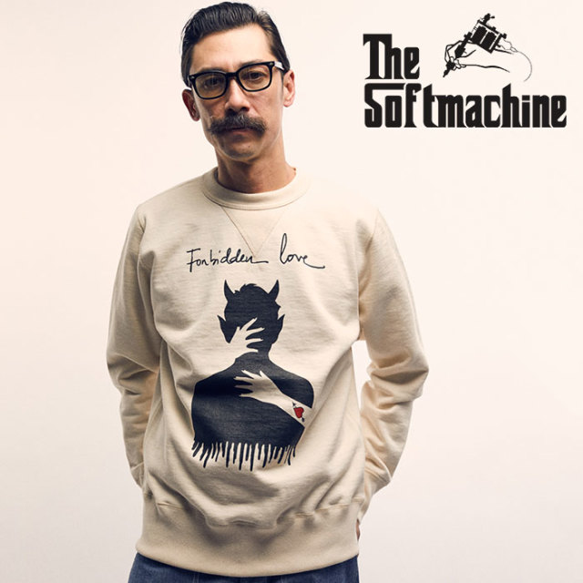 SOFTMACHINE(ソフトマシーン) EMBRACE SWEAT(CREW NECK SWEAT) 【2019SPRING&SUMMER先行予約】【キャンセル不可】【クルーネック