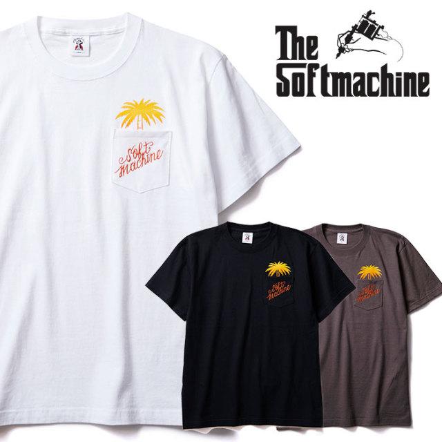 SOFTMACHINE(ソフトマシーン) FINGER TREE-T 【Tシャツ 半袖】【ホワイト ブラック チャコール タトゥー】【2020SUMMER VACATION先