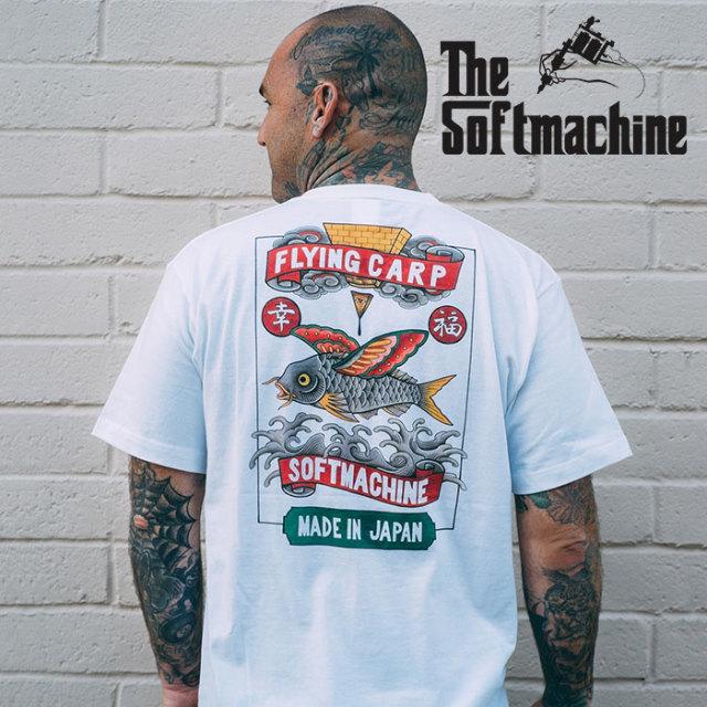 SOFTMACHINE(ソフトマシーン) FLYING CARP-T(T-SHIRTS) 【2019SPRING&SUMMER先行予約】【キャンセル不可】【プリントTシャツ】