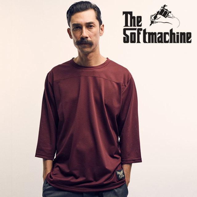 SOFTMACHINE(ソフトマシーン) FORMATION-FT(MESH 3/4 FOOTBALL T-SHIRTS) 【2019SPRING&SUMMER先行予約】【キャンセル不可】【フッ