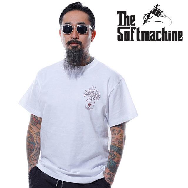 SOFTMACHINE(ソフトマシーン) FRY-T 【Tシャツ 半袖】【ホワイト ブラック ブラウン タトゥー】【2020SUMMER VACATION先行予約】【