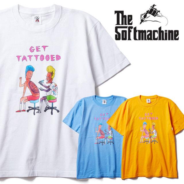 SOFTMACHINE(ソフトマシーン) FUN TIME-T 【Tシャツ 半袖】【ホワイト ブラック イエロー タトゥー】【2020SUMMER VACATION先行予