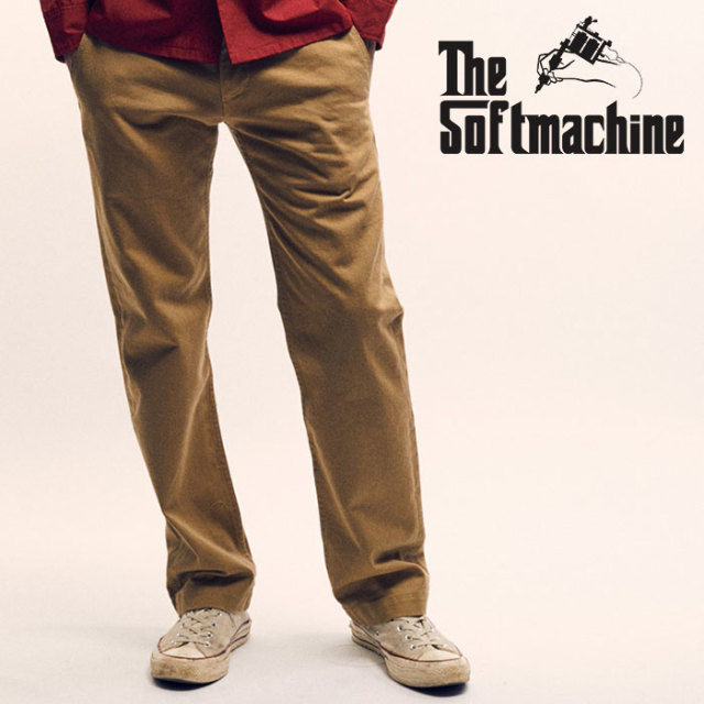 SOFTMACHINE(ソフトマシーン) GENERAL PANTS(MILITARY PANTS) 【2019AUTUMN&WINTER先行予約】【キャンセル不可】【ミリタリー パン