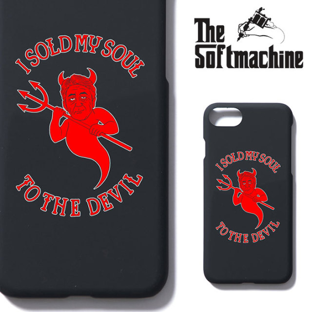 SOFTMACHINE(ソフトマシーン) HEART iPhone CASE(iPhone7&8 CASE) 【2019SPRING&SUMMER新作】【iPhoneケース】