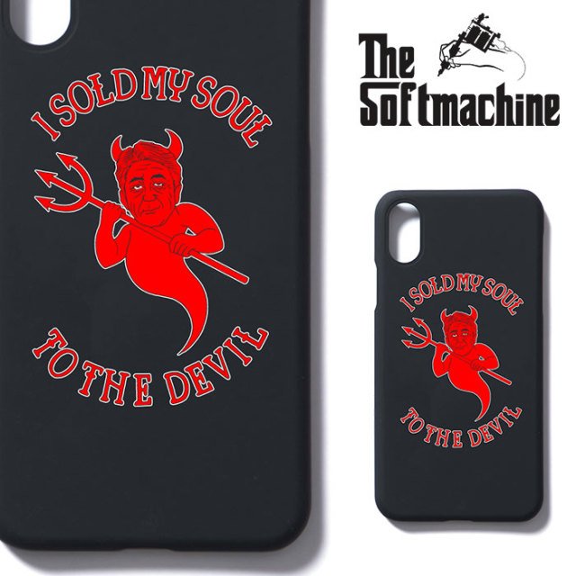 SOFTMACHINE(ソフトマシーン) HEART iPhone CASE(iPhone X CASE) 【2019SPRING&SUMMER新作】【iPhoneケース】