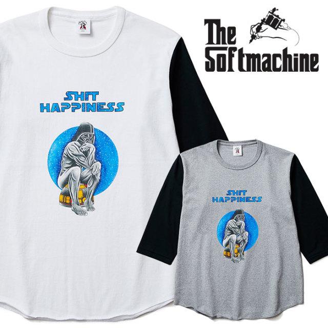 SOFTMACHINE(ソフトマシーン) JEDI-BT(3/4 SLEEVE  BASEBALL T-SHIRTS) 【2019SPRING&SUMMER先行予約】【キャンセル不可】【ベース