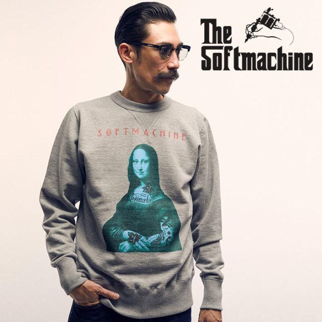 SOFTMACHINE(ソフトマシーン) JOCONDE SWEAT(CREW NECK SWEAT) 【2019SPRING&SUMMER先行予約】【キャンセル不可】【クルーネック