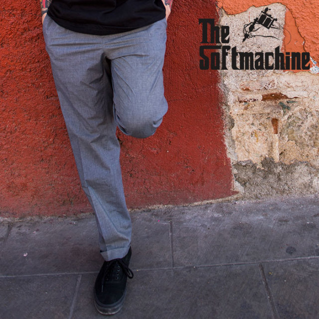 SOFTMACHINE(ソフトマシーン) LAVEY PANTS 【パンツ スラックス】【ブラック チャコール タトゥー】【2020SUMMER VACATION先行予約