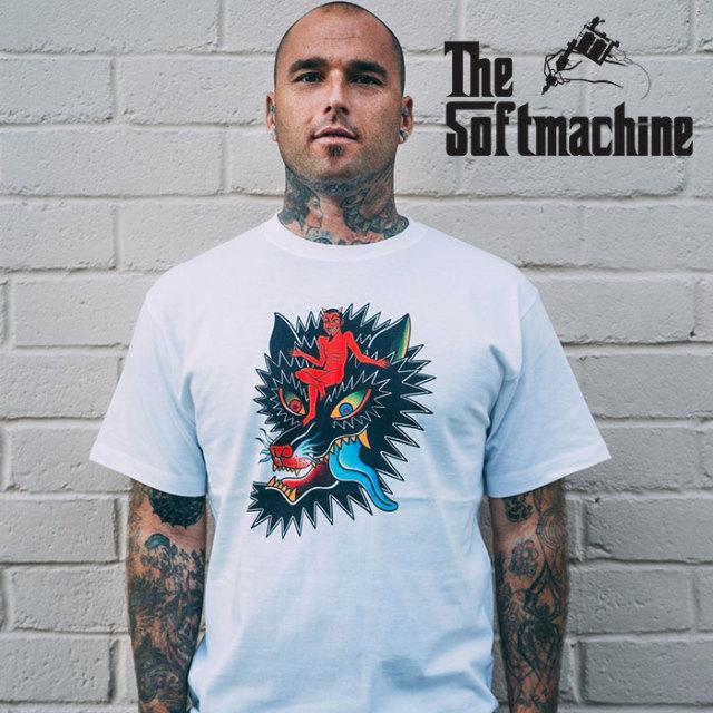 SOFTMACHINE(ソフトマシーン) MASTERMIND-T(T-SHIRTS) 【2019SPRING&SUMMER先行予約】【キャンセル不可】【プリントTシャツ】