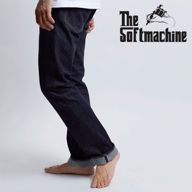 SOFTMACHINE(ソフトマシーン) NEW LIFE SLIM 【デニムパンツ】【デニム ブラックデニム タトゥー】【2020SUMMER VACATION先行予約
