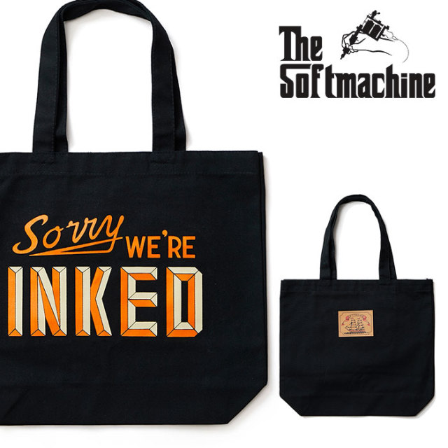 SOFTMACHINE(ソフトマシーン) NOTICE TOTE 【2019SPRING&SUMMER新作】【トートバッグ】